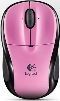 V220 Cordless Optical Mouse for Notebooks (Rose Pink)