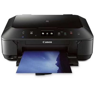 Wireless Color Photo All-in-One Inkjet Printer - Black