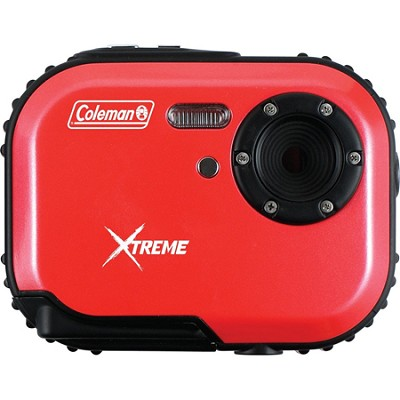 Mini Xtreme 5.0 MP Digital Video / Still Camera Anti-Shake and Waterproof (Red)