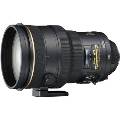 AF-S NIKKOR 200mm f/2G ED VR II Vibration Reduction Prime Telephoto Lens
