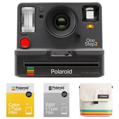 OneStep2 i-Type Instant Film Camera w/ Bag + film Bundle