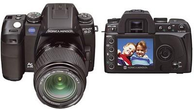 Maxxum 5D Digital SLR Body w/ AF DT 18-70mm Lens Kit