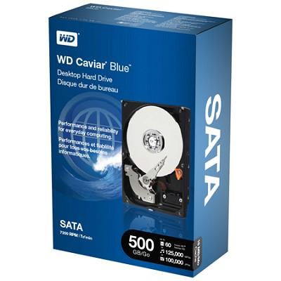 500GB  Caviar Blue  7200 RPM SATA Desktop  Internal Hard Drive