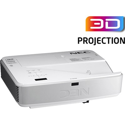 3200-Lumen 1080p Ultra Short Throw Projector - NP-U321H