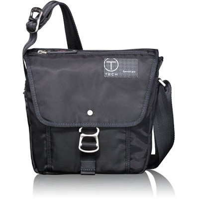 T-Tech By Tumi  Icon Lewis Small Flap Crossbody - 57501 - Jet Black