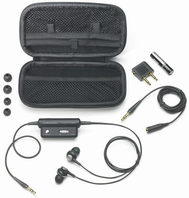 ATH-ANC3 QuietPoint Active Noise Canceling Headphones Reconditioned