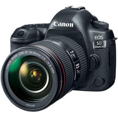 EOS 5D Mark IV 30.4 MP DSLR Camera + EF 24-105mm f/4L IS II USM Lens Kit #1