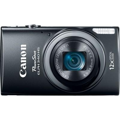 PowerShot ELPH 340 HS 16MP 12x Zoom 3-inch LCD - Black