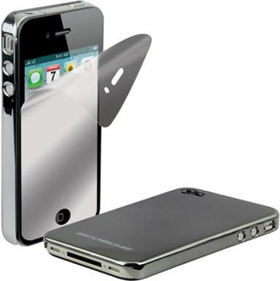 snapSHIELD Case for iPhone 4 (Gray)