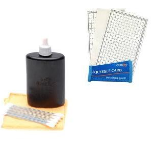 3pc. Lens Cleaning Kit and LCD Screen Protectors