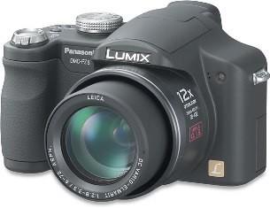 Lumix DMC-FZ8K 7.2 Megapixel Digital Camera (Black)-Refurbished