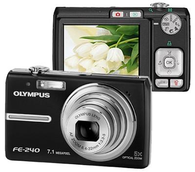 FE-240 (Black) Digital Camera