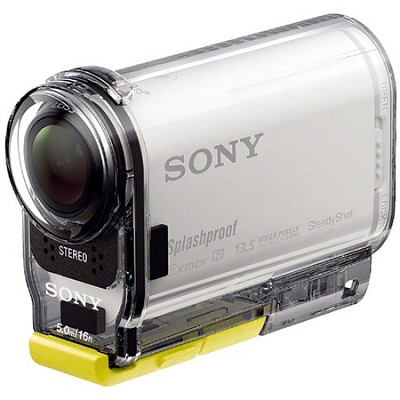 HDR-AS100V/W HD POV Action Camera with 3-Inch LCD (White)