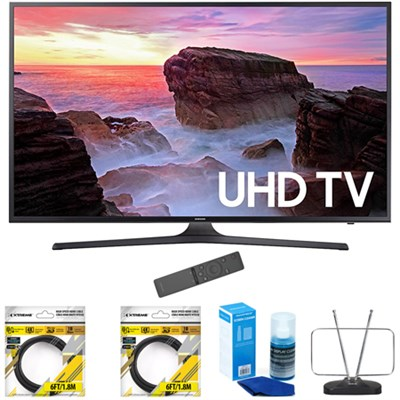 40` 4K Ultra HD Smart LED TV 2017 Model with Cleaning Bundle