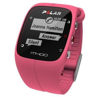 M400 GPS Smart Sports Watch, Pink - 90057191