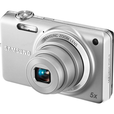 ST65 14.2 MP Silver Compact Digital Camera
