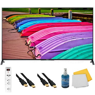 65` 3D 4K Ultra HD Smart TV Motionflow XR 240 Plus Hook-Up Bundle - XBR65X850B