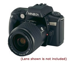 MAXXUM 70 QD SLR BODY WITH MINOLTA USA WARRANTY
