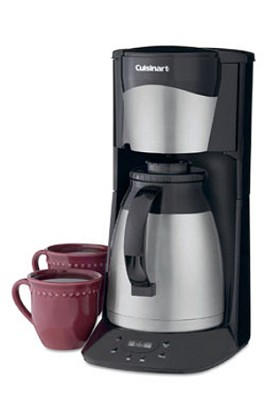 DTC-975BKN 12-Cup Programmable Thermal Coffeemaker (Black)