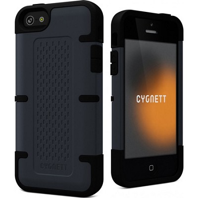 Workmate Slate Blue and Black Shock-Absorbing iPhone 5 Case
