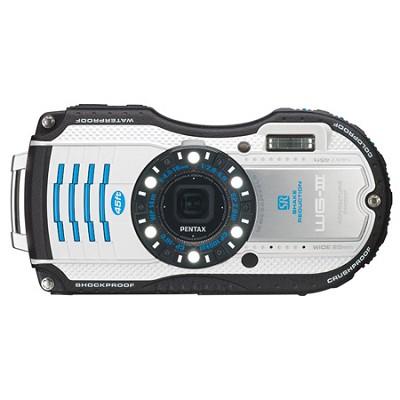 WG-3 16MP White  Waterproof Shockproof Crushproof Digital Camera