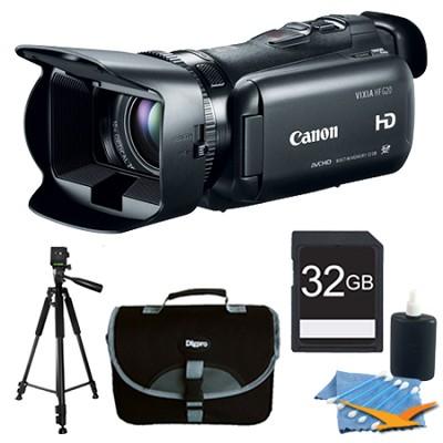 VIXIA HF G20 32GB Camcorder HD CMOS Pro Image Sensor 3.5` Touch Plus 32GB Kit