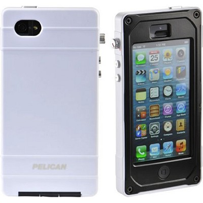 Progear Vault Series For Iphone 5, White/Black/Black, CE1180-i50A-311