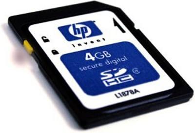 4GB Secure Digital High Capacity (SDHC)