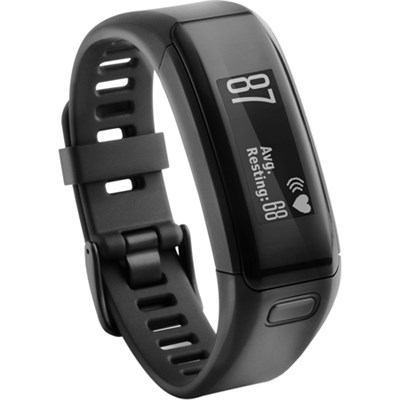 vivosmart HR Activity Tracker, Regular Fit - Black (Factory Refurbished)