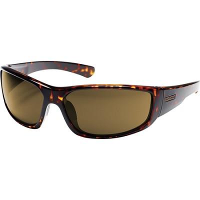 Pursuit Sunglasses Tortoise Frame/Brown Polarized Lens
