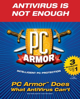PC Armor in Retail box - 1 year protection