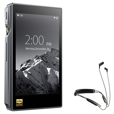 X5-III High Resolution Lossless Music Player w/ Klipsch R6 Neckband Earbuds