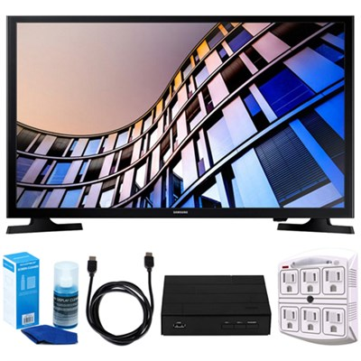 32-Inch 720p Smart LED TV (2017 Model) + Terk HD Digital TV Tuner Bundle