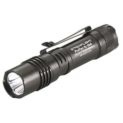 88061 ProTac 1L-1AA 350 Lumen Professional Tactical Dual Fuel Flashlight (Black)