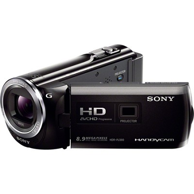 HDR-PJ380/B 16GB Full HD Camcorder with Projector - OPEN BOX