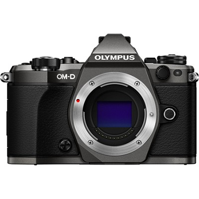 OM-D E-M5 Mark II Limited Edition Digital Camera - Body Only (Titanium)