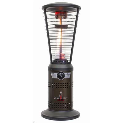 10,000 BTU Mini Ember Tabletop Liquid Propane Gas Patio Heater - Bronze
