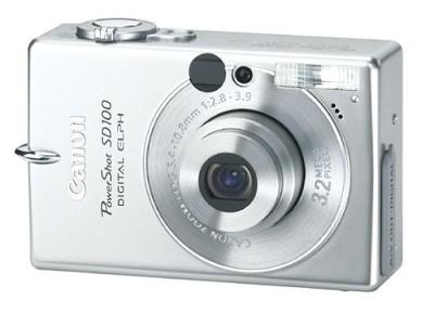 Powershot SD100 Digital ELPH Camera