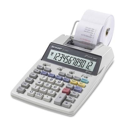 Portable Printing Calculator with Clock and Calender - EL1750V