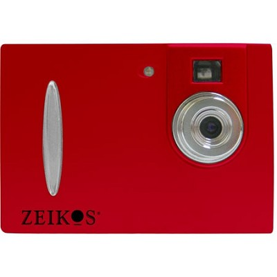 ZE-DC26 Point & Shoot Digital Camera - Red