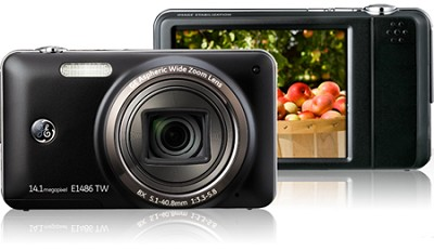 E1486TW 14MP Power Series Touch Screen Digital Camera (Black)