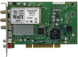 WinTV HVR-1600 Internal PCI Dual TV Tuner/Video Recorder Media Center Kit 1183