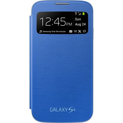 Galaxy S IV S-view Flip Cover Blue