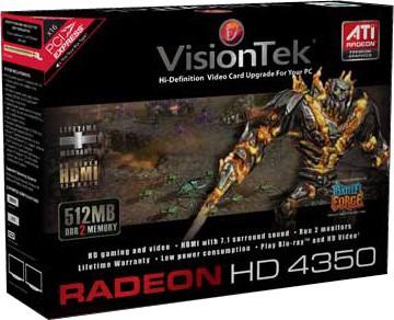 Radeon HD4350 PCIE 512MB DMS59   Model # 900273