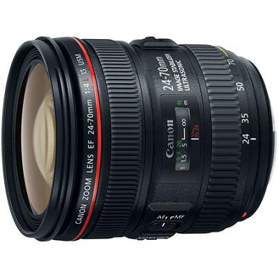 EF 24-70mm F/4L IS USM Standard Zoom Lens (6313B002) - OPEN BOX