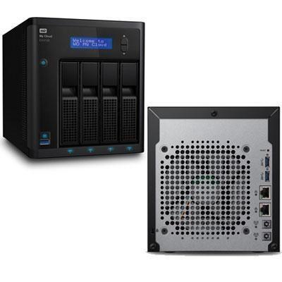 32TB My Cloud Expert EX4100 - WDBWZE0320KBK-NESN