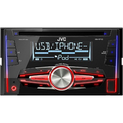 KWR710 Double-DIN In-Dash CD/USB Receiver