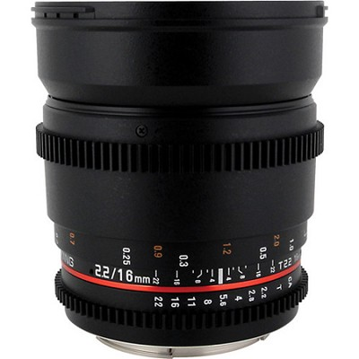16mm T2.2 `Cine` IF ED Wide-Angle Lens for Sony A VDSLR