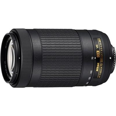 AF-P DX NIKKOR 70-300mm f/4.5-6.3G ED VR Lens for Nikon DSLR Cameras Refurbished