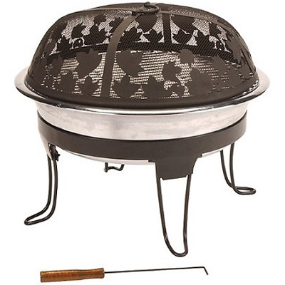 Pack-Away Portable Fireplace Grill - 5065-707
